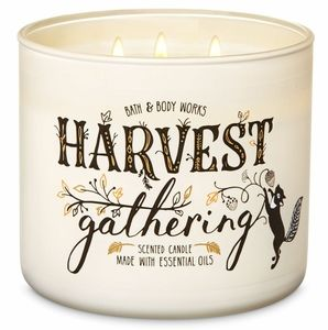 Harvest Gathering 3 Wick Candle